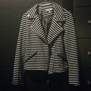 Sleek striped blazer